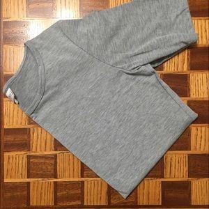 Lularoe Solid Gray Gigi
